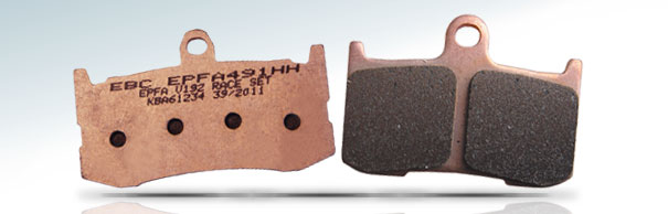 EBC Brakes™ EPFA Sintered Pads for Fast Street and Trackday image