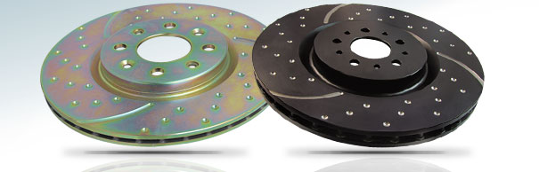 EBC Brakes™ GD Series Grooved Replacement Brake Discs image