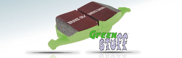 EBC Brakes™ Greenstuff™ 2000 Series Upgrade Pads image