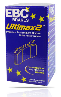 Image of Ultimax2™ Brake Pads product box