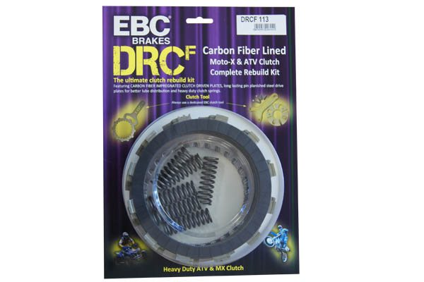 DRCF Carbon Fibre MX ATV Race Clutch Kit