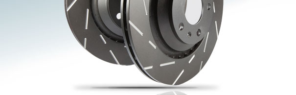 EBC Brakes™ USR Series Slotted Replacement Brake Discs image