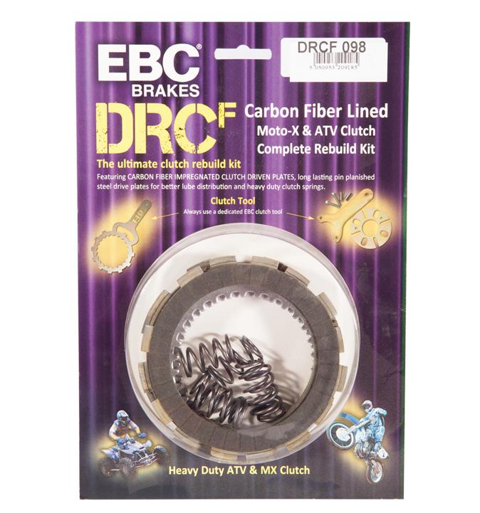 EBC Brakes DRC175 Dirt Racer Clutch
