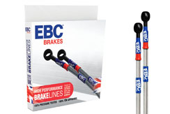 EBC Brakes Braided Stainless Steel Brake Lines